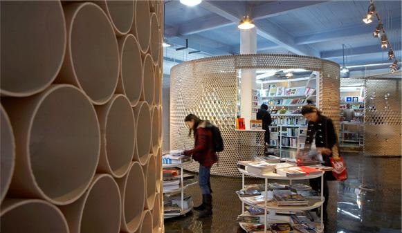 创意水管墙面设计
